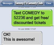 Tommy T's Comedy Steakhouse Pleasanton, Ca